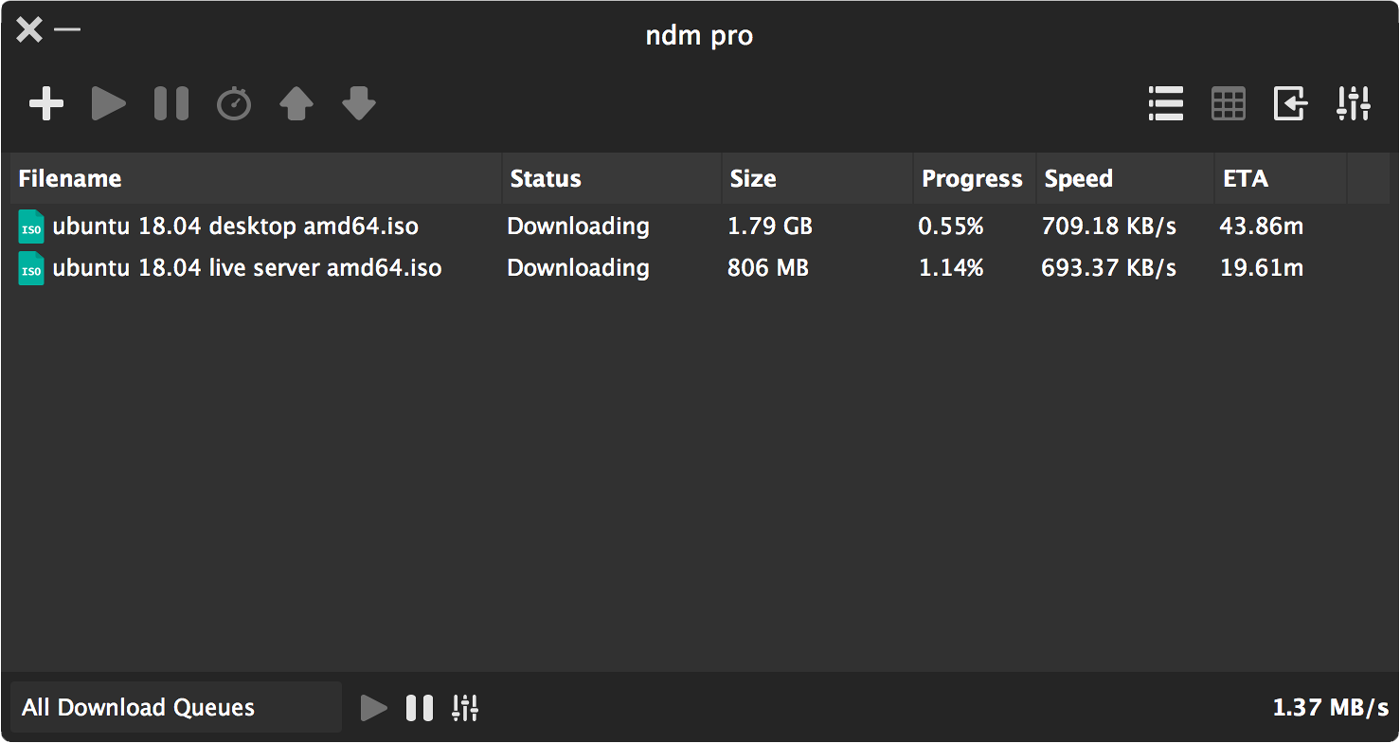 Ninja Internet Download Manager | NDM